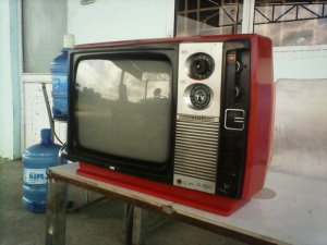 Tivi đỏ xưa VTD