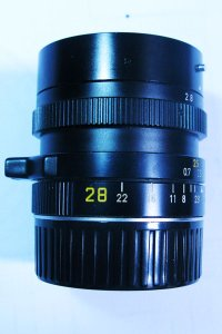 Bán lens Leica M: Elmarit 28/f2.8