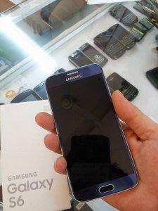 Samsung Galaxy S6 (G920), Xanh Sapphire, giá sang lại cực tốt. Có hình