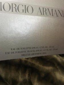 Set Armani Code đen