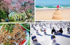 5 hành trình du lịch lý tưởng dịp giao mùa đông - xuân