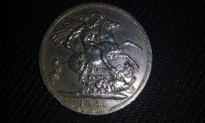 Đồng tiền Xưa của Anh năm  1951