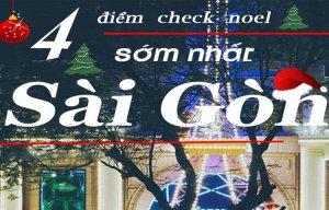 Địa điểm đón Noel tuyệt đẹp tại Sài Gòn