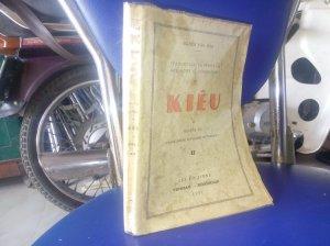 Sách Kiều của dịch giả nguyễn văn vĩnh - sài gòn 1952.
