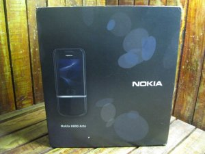 Nokia 8800 Arte Black Fullbox