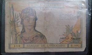 4 tờ tiền Đông Dương