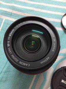 Ống kính Canon EF/s 17-85mm IS USM giá siêu bèo