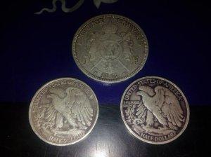3 xu bạc.