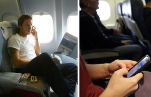 Điều gì xảy ra khi khách không tắt điện thoại trên máy bay?