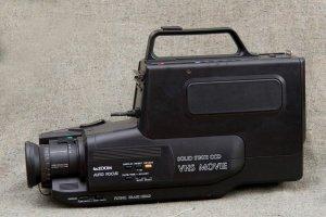 máy quay fim xưa, decor 300k
