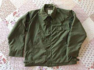 Áo bu rông hải quân mỹ - us navy a2 deck jacket, size L