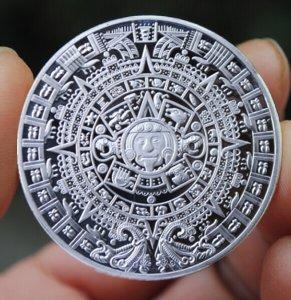 2 Đồng  tiền maya