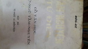 Tầm nguyên từ điển- Bửu Kế