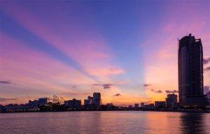 Vẻ đẹp lộng lẫy của Sài Gòn khi đêm về