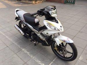 Yamaha Exciter 135cc trắng đen biển VIP 30X1 - 6666