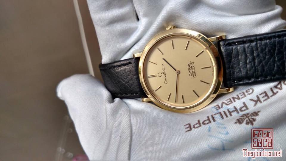 Đồng hồ Omega contellslation, Vàng đúc 18k (5).jpg