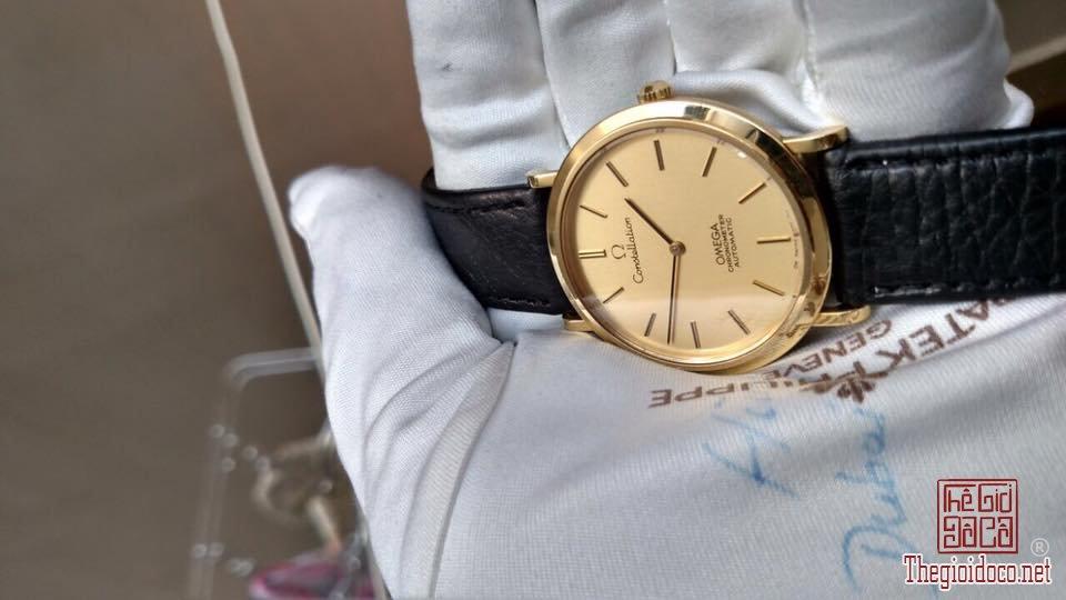 Đồng hồ Omega contellslation, Vàng đúc 18k (6).jpg