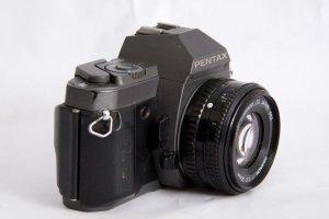 pentax P30t + lens 50 1:1.7
