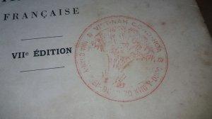 Sách xưa nha quân y tiểu đoàn 70 kho y dược Việt Nam Cộng Hòa ( đệ 1 VNCH)