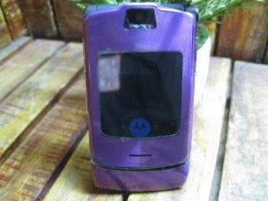 Motorola V3i Tím Mộng Mơ