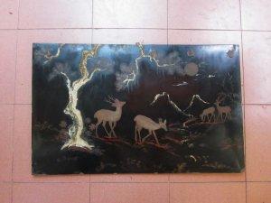 Giao lưu vài bức tranh sơn mài xưa (trước 75) giá bình dân