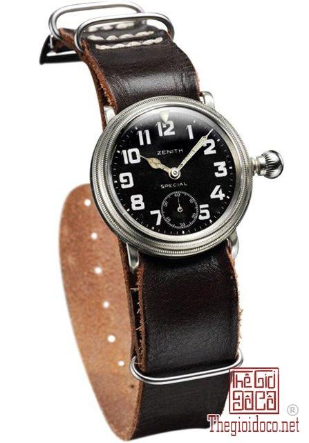 Lịch sử dòng đồng hồ Phi công Phần II Zenith Montre d'Aéronef Type 20 (3).jpg
