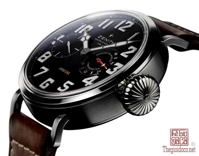 Lịch sử dòng đồng hồ Phi công Phần II Zenith Montre d'Aéronef Type 20 (4).jpg