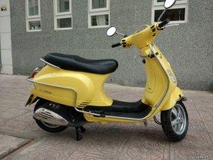 Vespa LX125 ie Vàng chanh đẹp long lanh