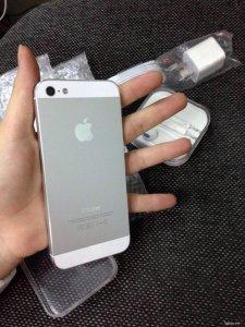 Thanh lí iPhone5 Trắng 16G Quốc tế Mỹ LL/A