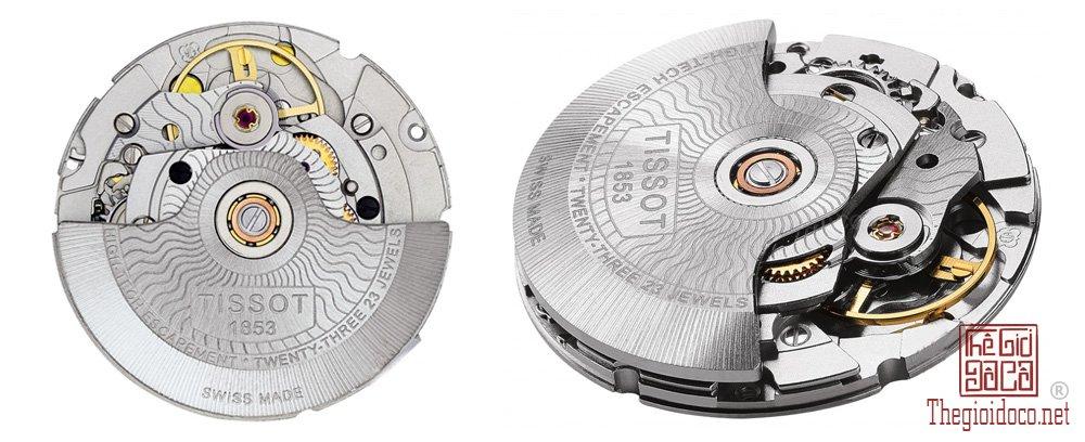 Bộ máy của Đồng hồ Tissot tự động (Automatic).jpg