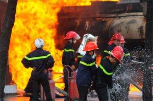 Giao lưu mũ Phòng Cháy chuyên dụng.