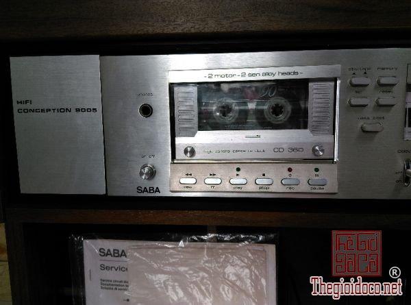mâm than SABA PSP240 - đầu Deck SABA 9005 - Ampli SABA 9250 (6).jpg