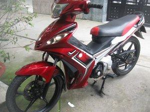 xe exciter 110 hàn quốc ld nhật côn tự động bs 5 số 2011 màu đỏ xe đẹp máy êm