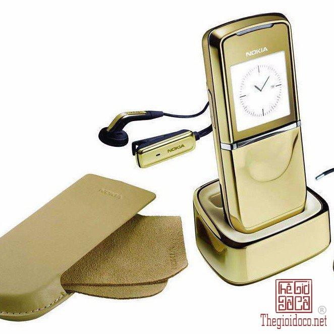 Điện thoại Nokia 8800 sirocco gold chính hãng phụ kiện Fullbox BH 12 tháng