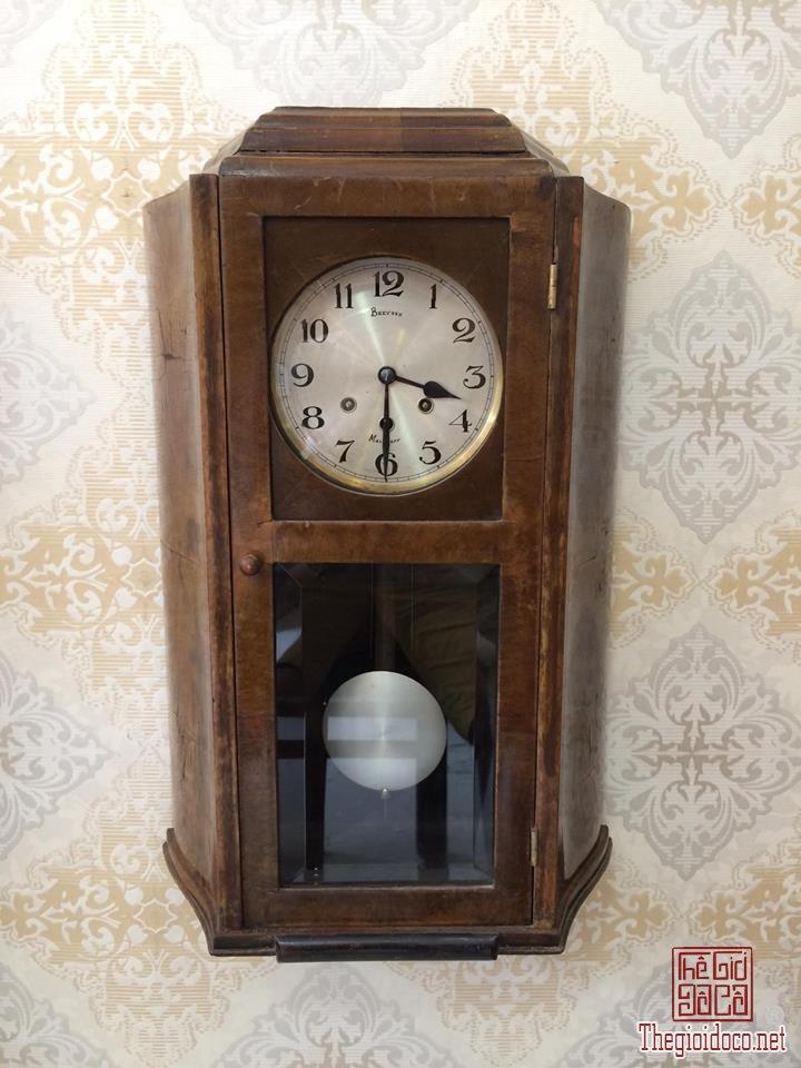 Đồng hồ treo tường Breysse thùng cổ điển âm thanh chuẩn xuất sứ Đức 1920 (1).jpg