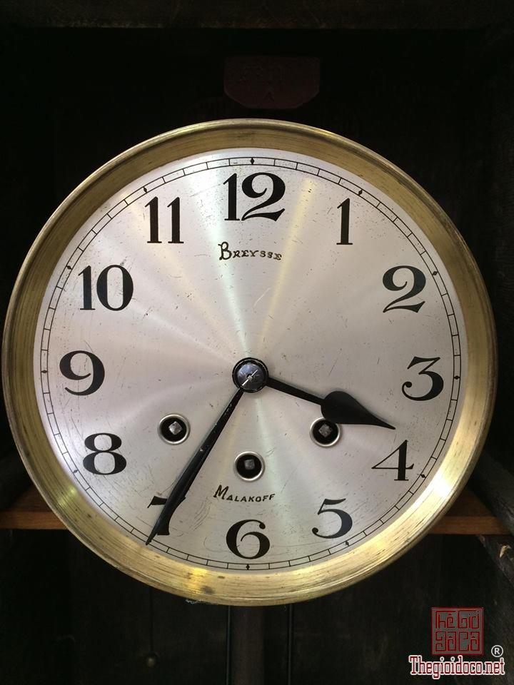 Đồng hồ treo tường Breysse thùng cổ điển âm thanh chuẩn xuất sứ Đức 1920 (2).jpg