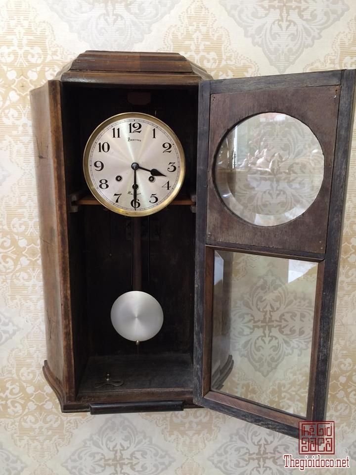 Đồng hồ treo tường Breysse thùng cổ điển âm thanh chuẩn xuất sứ Đức 1920 (3).jpg