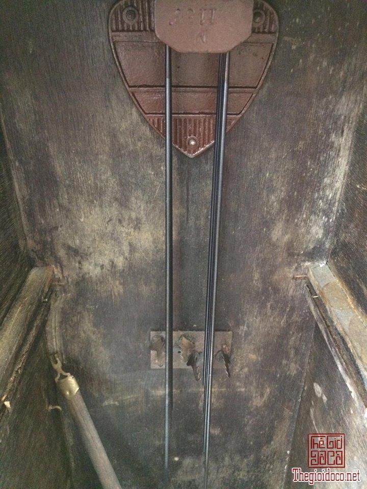 Đồng hồ treo tường Breysse thùng cổ điển âm thanh chuẩn xuất sứ Đức 1920 (5).jpg