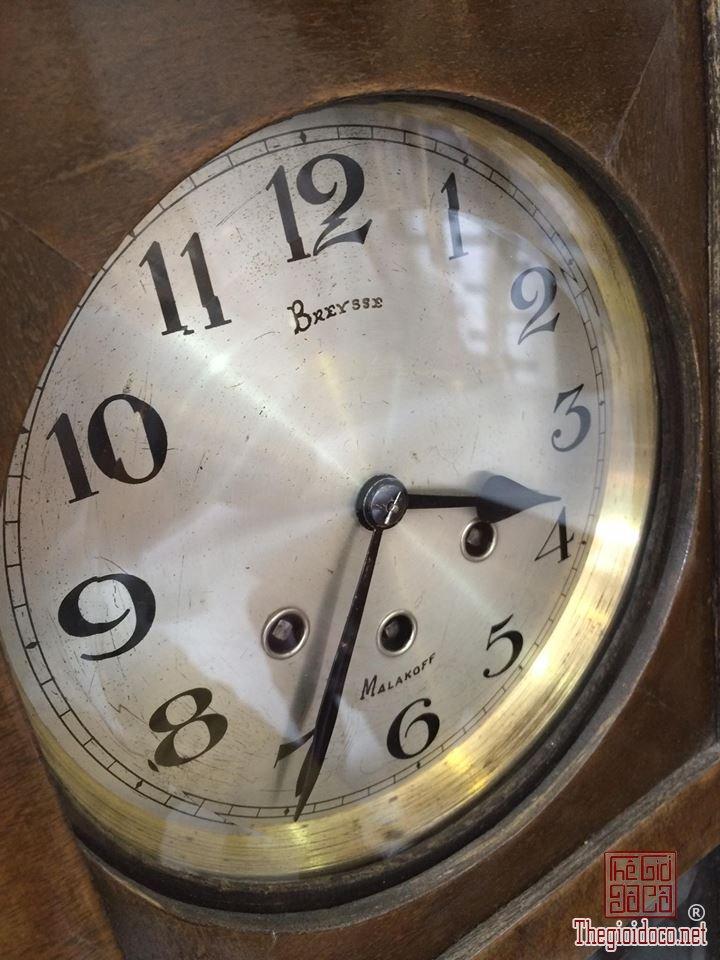Đồng hồ treo tường Breysse thùng cổ điển âm thanh chuẩn xuất sứ Đức 1920 (6).jpg