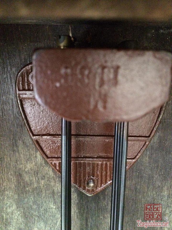 Đồng hồ treo tường Breysse thùng cổ điển âm thanh chuẩn xuất sứ Đức 1920 (8).jpg