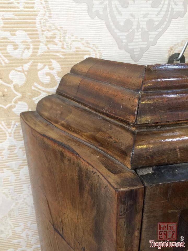 Đồng hồ treo tường Breysse thùng cổ điển âm thanh chuẩn xuất sứ Đức 1920 (11).jpg