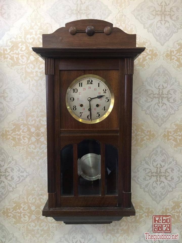 Đồng hồ treo tường Glocken - spiel xuất sứ Đức 1960 máy 42 vách lớn (1).jpg