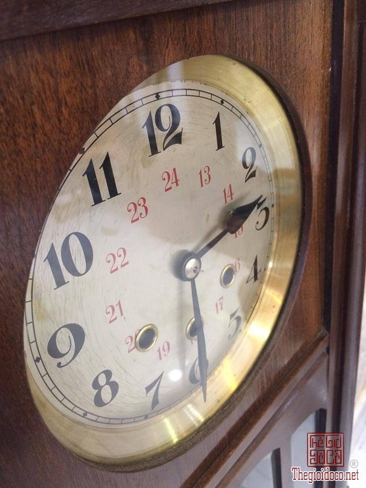 Đồng hồ treo tường Glocken - spiel xuất sứ Đức 1960 máy 42 vách lớn (2).jpg
