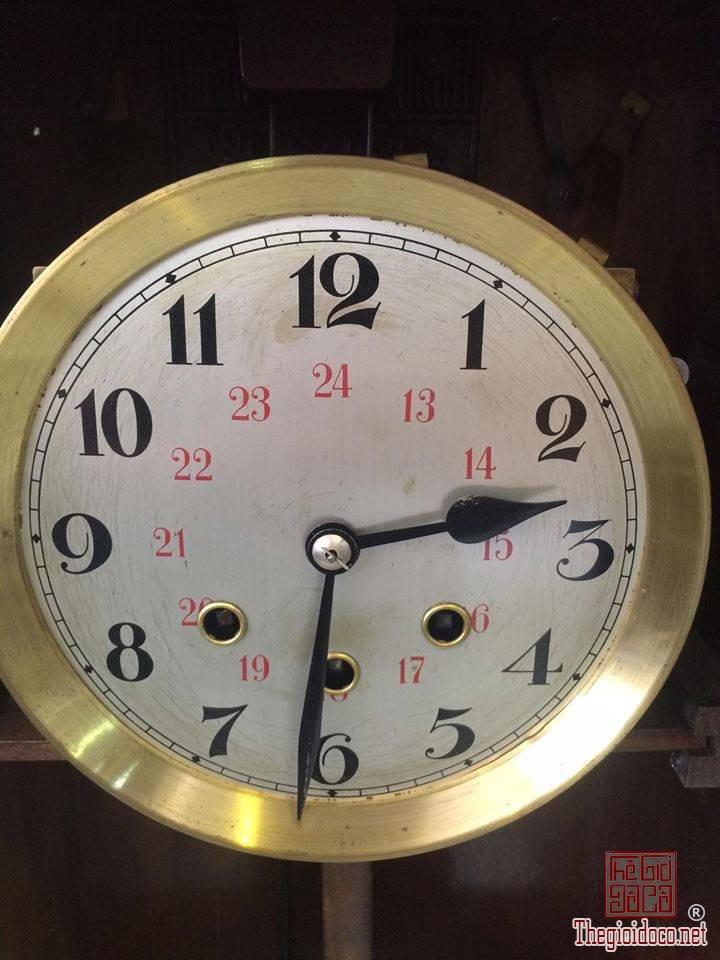 Đồng hồ treo tường Glocken - spiel xuất sứ Đức 1960 máy 42 vách lớn (6).jpg