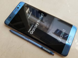 Bán/Đổi Samsung Galaxy Note 7 N930K 64GB blue coral pin xanh sạc 100%