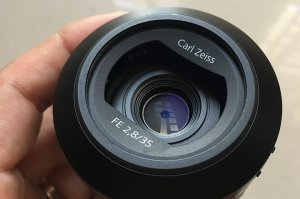Lens Sony Carl Zeiss 35 f2.8