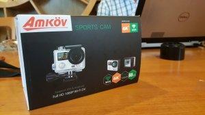 Cần thanh lý camera hành trình Amkov 8000S Fullbox new 100%