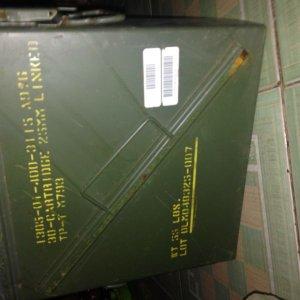 Bán thùng đạn 35*35*15cm 450k/c.mới tinh
