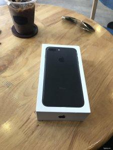 [iPhone 7+]Matte Black 32GB thế giới di động mới 99.9% Fullbox Sạc Cáp