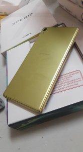 Sony XA ULTRA hàng cty fullbox BH 11 tháng màu vàng 99%